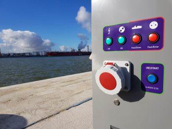Walstroomkast Port of Antwerp