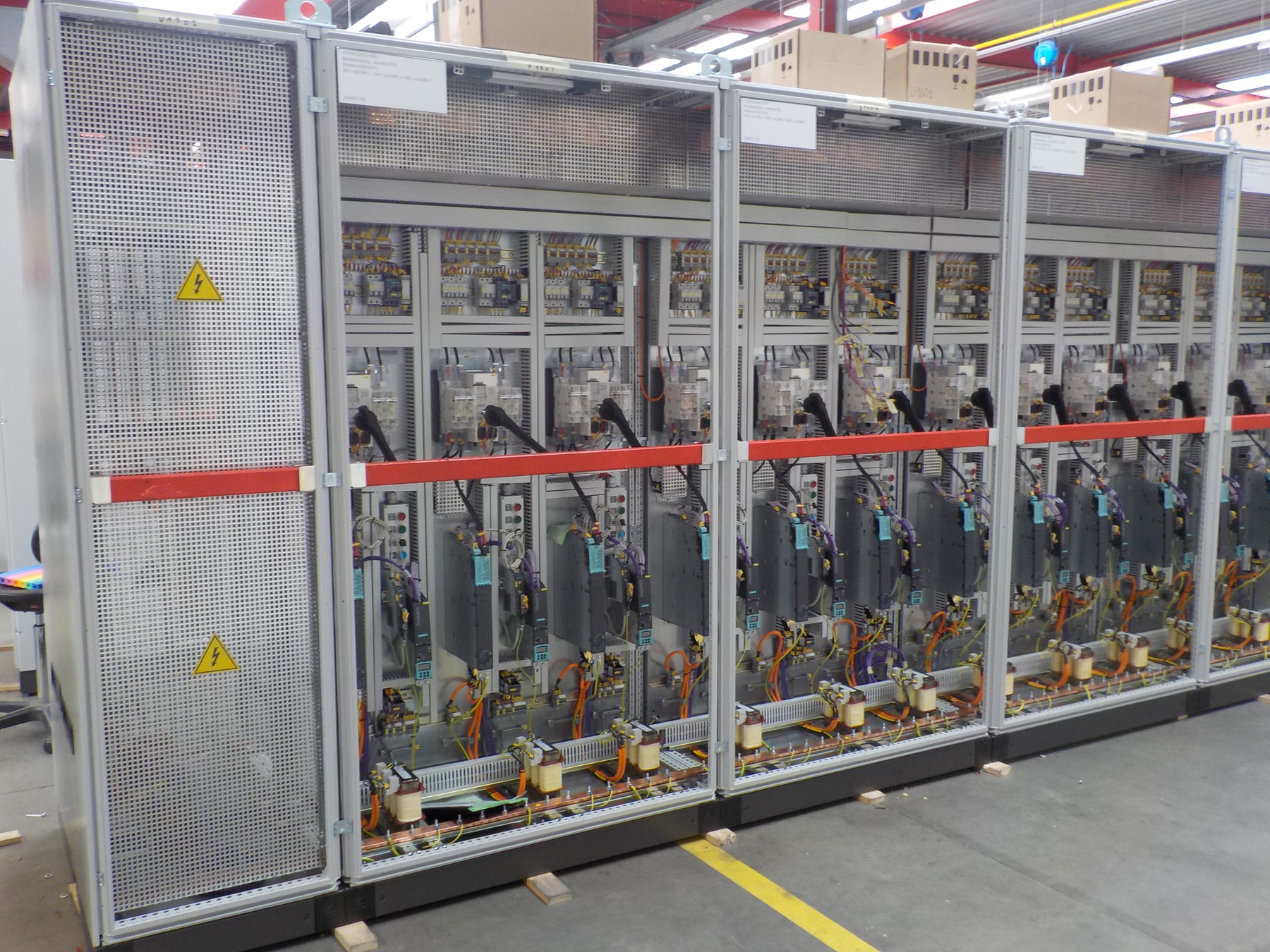 De stuurborden voor de nieuwe productielijn van ArcelorMittal