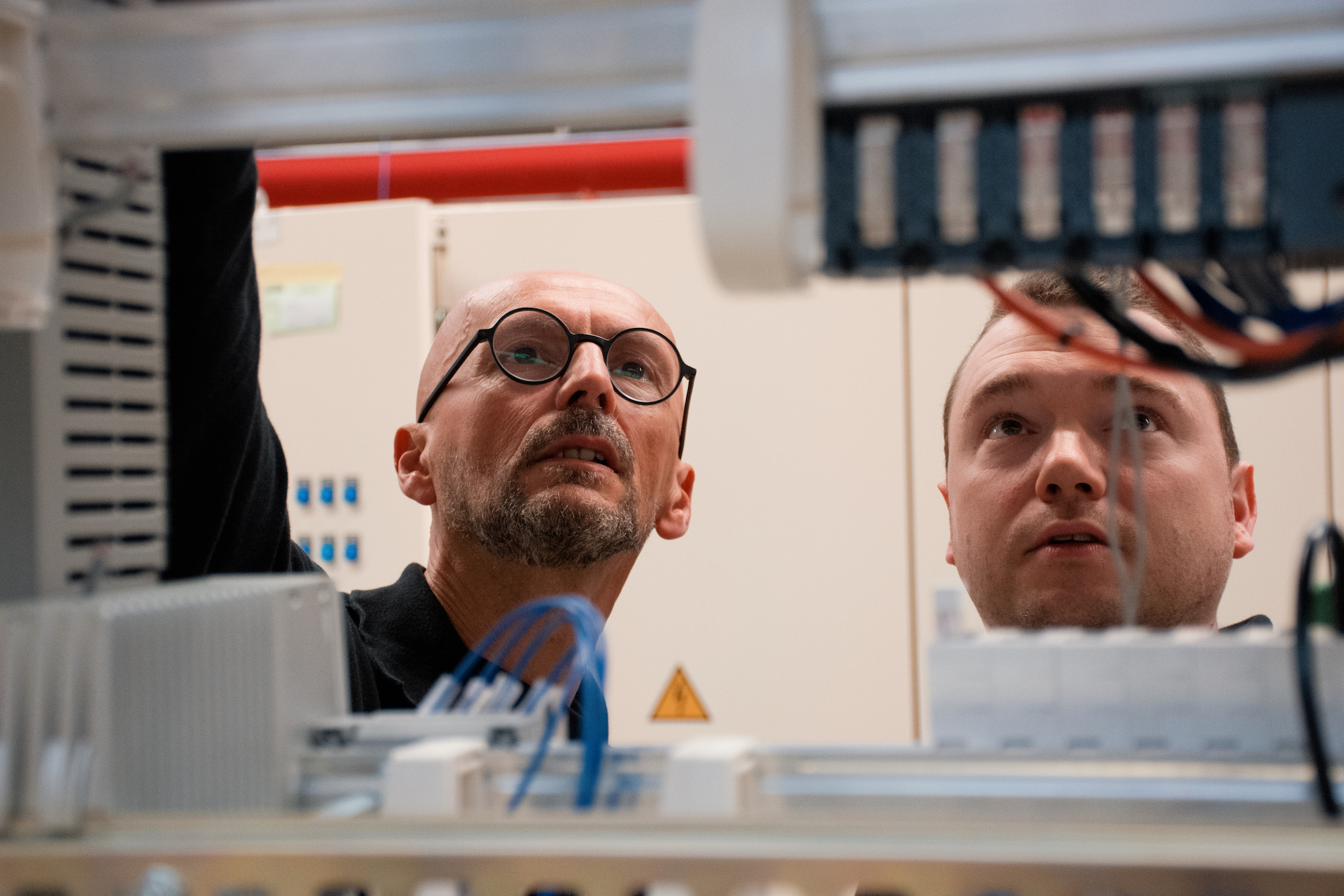 Donato Rizzi (links) en Dirk Labie.