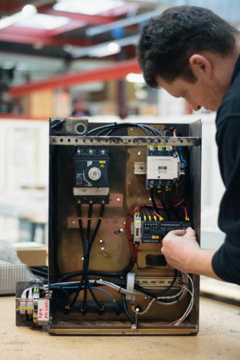 Ombouw tot smart panel: work in progress...